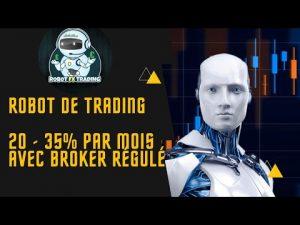 robot qui réalise des trades